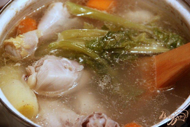 Фото приготовление рецепта: Густой суп с перловкой и кукурузой шаг №1