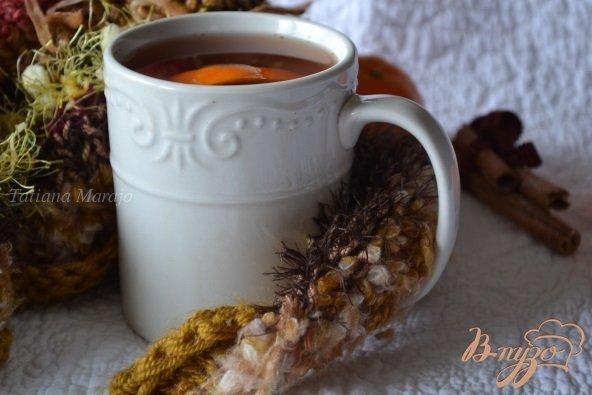 Фото приготовление рецепта: Пряный клюквенный сок шаг №4