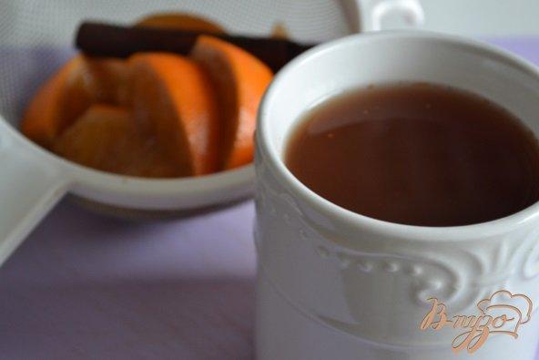 Фото приготовление рецепта: Пряный клюквенный сок шаг №3