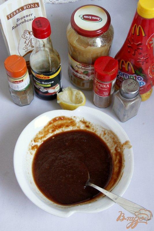 Фото приготовление рецепта: Рёбрышки по-канадски шаг №2