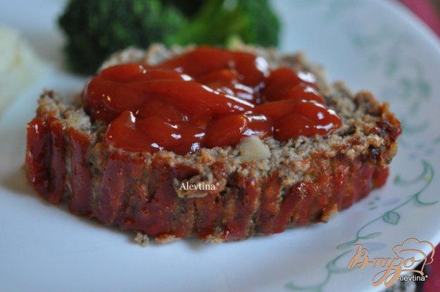 Рецепт Мясной хлеб с индюшатиной и грибами
