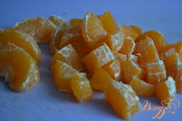 Овсяная каша с мандаринами