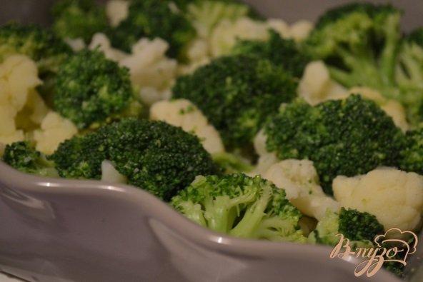 Фото приготовление рецепта: Запеканка из капусты с ветчиной шаг №2