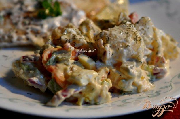 фото рецепта: Салат картофельный Аллилуйя