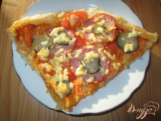 Рецепт Пицца по-русски