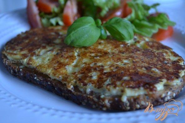 Рецепт Горячий бутерброд с сыром на сковороде