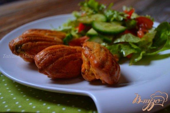 Рецепт Закусочные мадленки