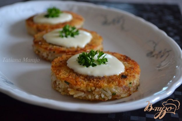 Рецепт Рисовые биточки с тунцом
