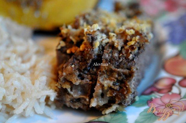 Рецепт Говядина в панко крошке с чесночным вкусом