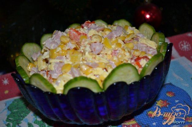 фото рецепта: Салат с яичными блинчиками