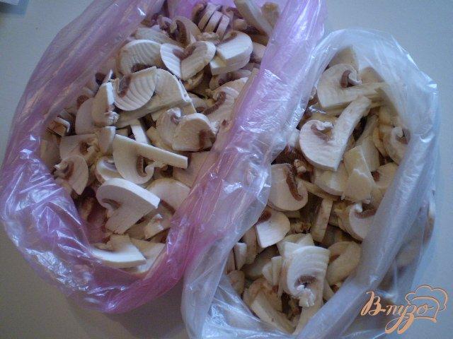 Фото приготовление рецепта: Заготовка грибов шаг №3