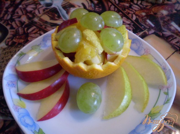 Рецепт Фруктовый салат в корзинке