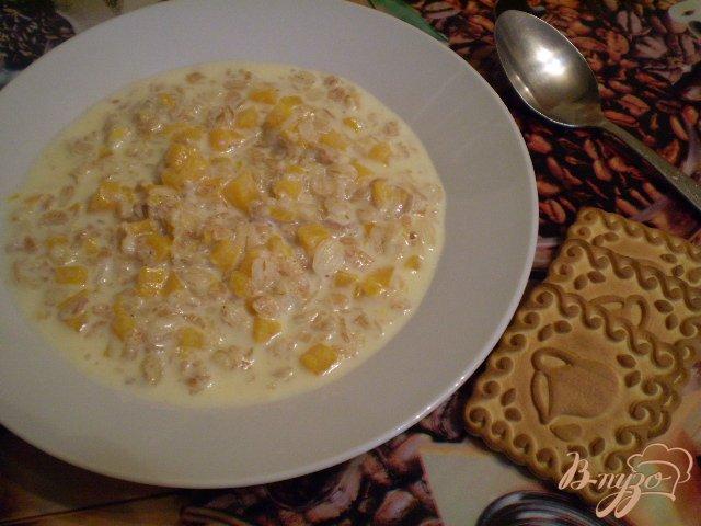 Фото приготовление рецепта: Каша для завтрака шаг №5