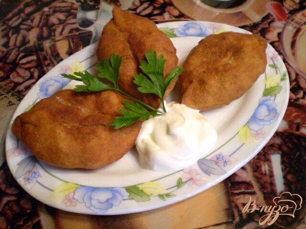 Рецепт Жаренные пирожки на картофельном отваре