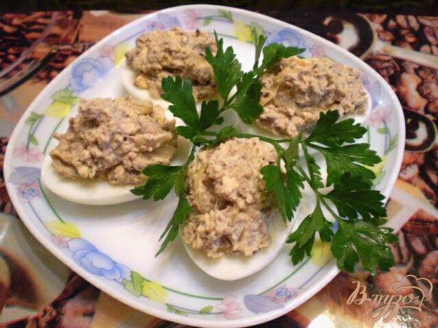 Яйца фаршированные куриной печенью рецепты с фото