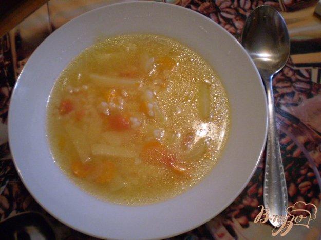 фото рецепта: Рисово-томатный суп