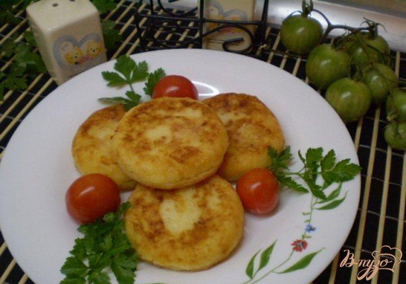Фото приготовление рецепта: Биточки картофельные с пшенкой шаг №6