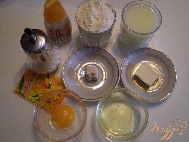 Фото приготовление рецепта: Булочки на сыровотке шаг №1