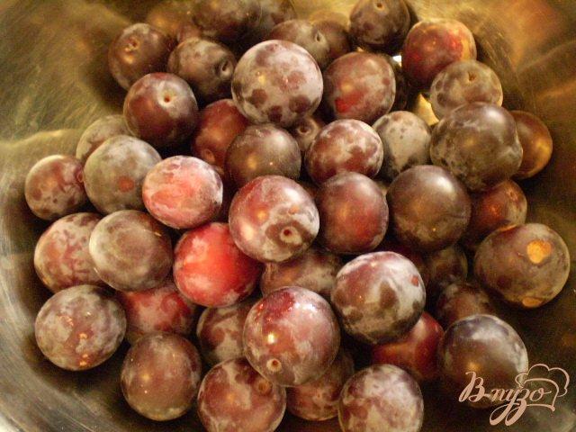 Фото приготовление рецепта: Сливовый компот на зиму шаг №1