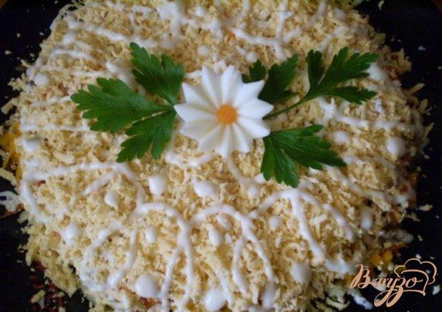 Рецепт Грибной слоенный салат