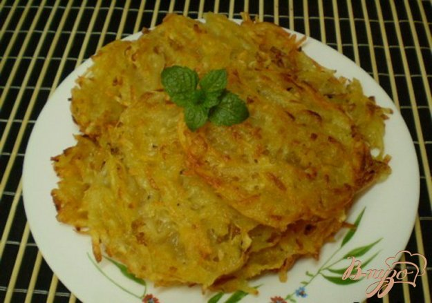 фото рецепта: Драники из картофеля и тыквы