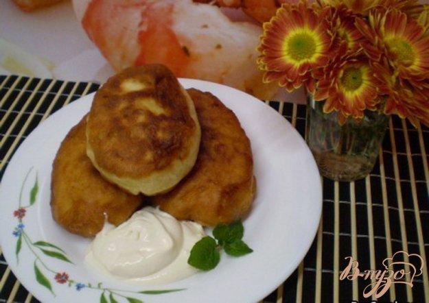 Рецепт Жаренные пирожки с картофелем и луком