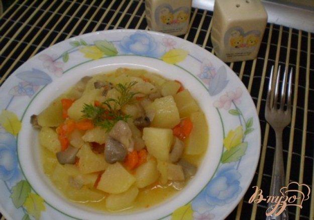 фото рецепта: Картофель с грибами