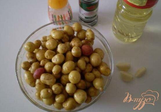 Фото приготовление рецепта: Картофель во фритюре шаг №1