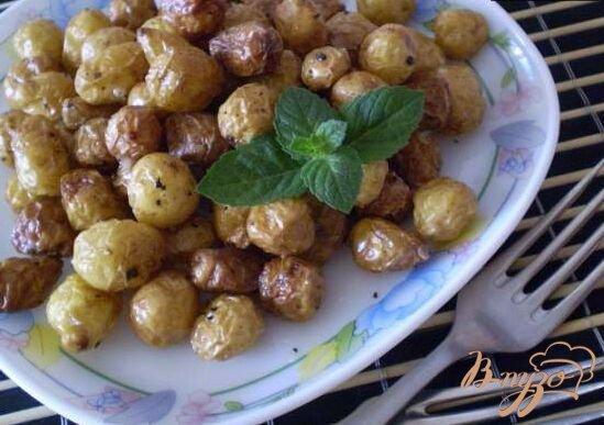 Фото приготовление рецепта: Картофель во фритюре шаг №4