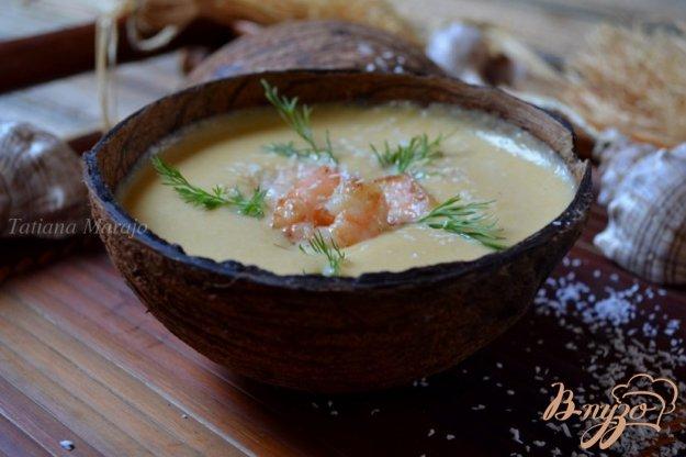 фото рецепта: Тыквенный суп-пюре на кокосовом молоке