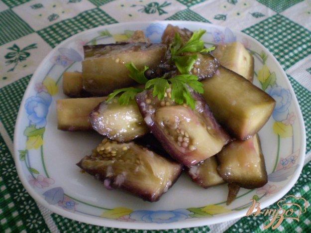 Рецепт  Баклажаны с чесноком маринованые