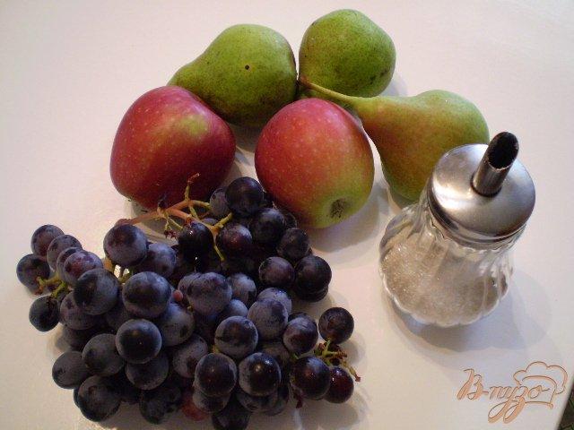Фото приготовление рецепта: Фруктово-ягодный микс шаг №1