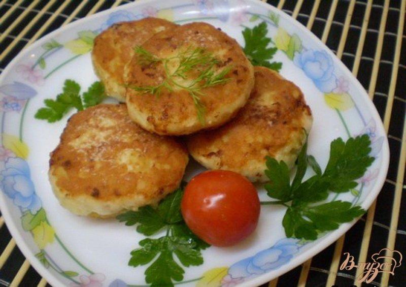 Фото приготовление рецепта: Котлеты из куриного мяса с пшеном шаг №6