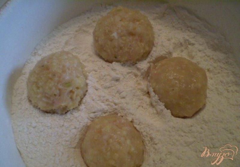 Фото приготовление рецепта: Котлеты из куриного мяса с пшеном шаг №4