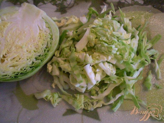Фото приготовление рецепта: Овощной микс шаг №2