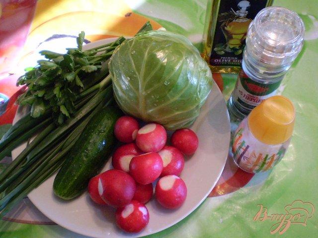 Фото приготовление рецепта: Овощной микс шаг №1