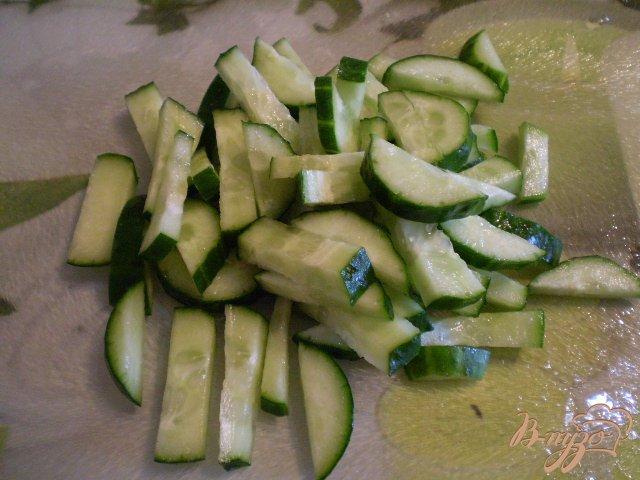 Фото приготовление рецепта: Овощной микс шаг №4