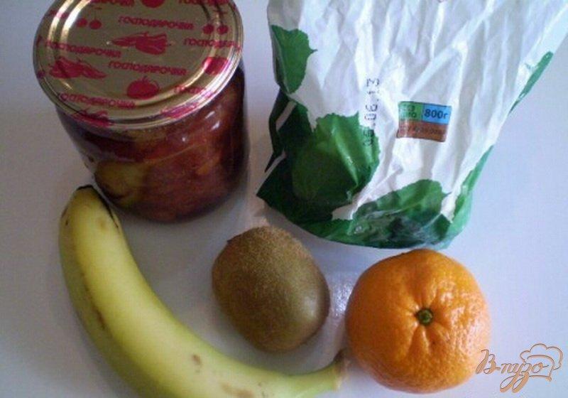 Фото приготовление рецепта: Мороженое с фруктами шаг №1