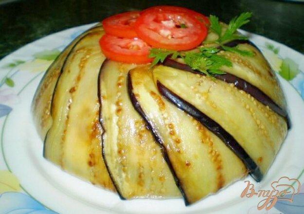 фото рецепта: Террин из баклажанов, сладкого перца и сыра