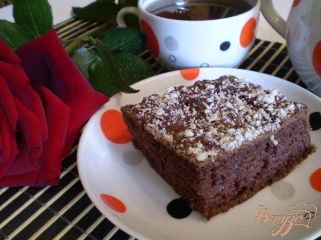 фото рецепта: Шоколадный быстрый пирог