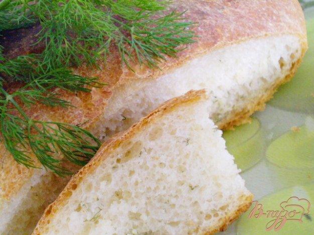 Рецепт Домашний хлеб с укропом