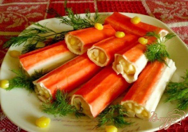 Рецепты блюд с крабовых палочки