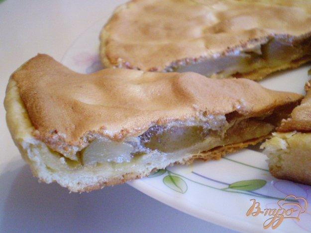 Рецепт Песочный пирог с грушами