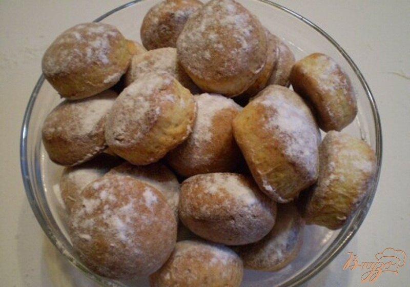 Фото приготовление рецепта: Печенье с творогом шаг №5