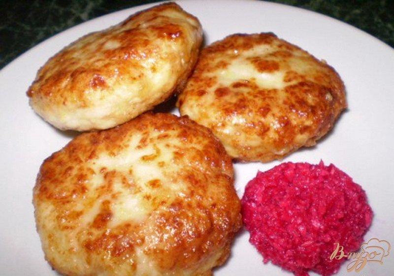 Фото приготовление рецепта: Котлеты мясные с капустой шаг №6
