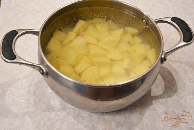 Фото приготовление рецепта: Борщ на копченом беконе шаг №1