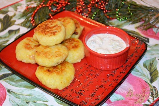 Рецепт Картофельные зразы с грибами по-польски