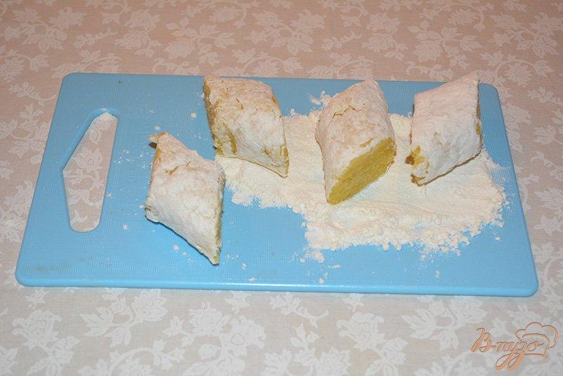 Фото приготовление рецепта: Картофельные зразы с грибами по-польски шаг №4
