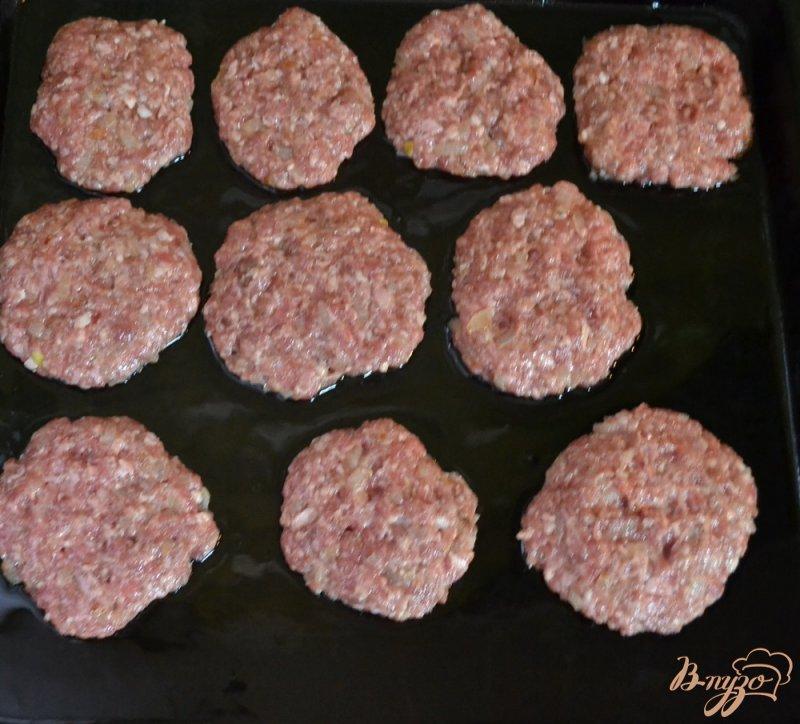Фото приготовление рецепта: Мясные стожки шаг №3