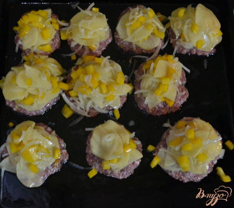Фото приготовление рецепта: Мясные стожки шаг №5